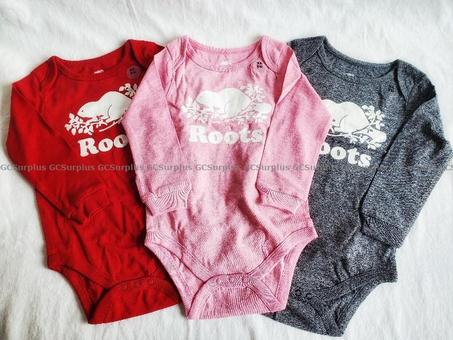 Picture of Set of 3 Baby Roots Bodysuits